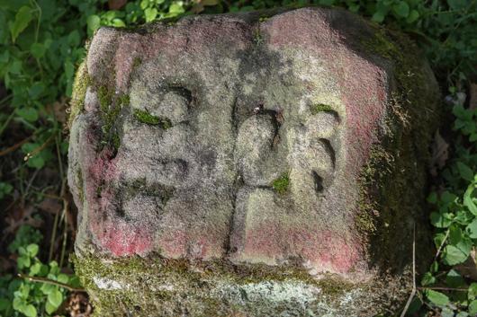 Schwanberg-Markierungsstein