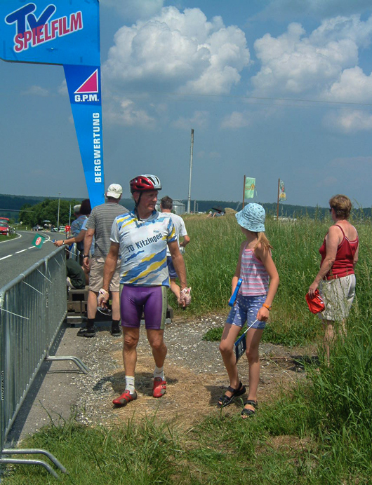 Deutschland-deine-Tour---Bergwertung-2003-in-Ebrach-mitJosef-Ubl