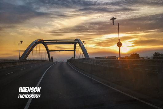Sonnenaufgang-Nordbrücke-Kitzingen-530
