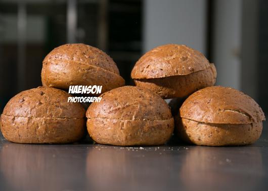 Bio-Vollkorn-Hamburger-Brötchen